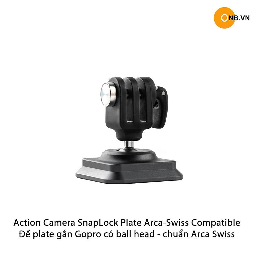Action Camera SnapLock Plate Arca-Swiss
