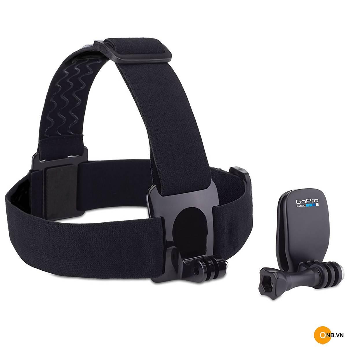 Gopro Head Strap and Quickclip - Dây đeo đầu Gopro chính hãng