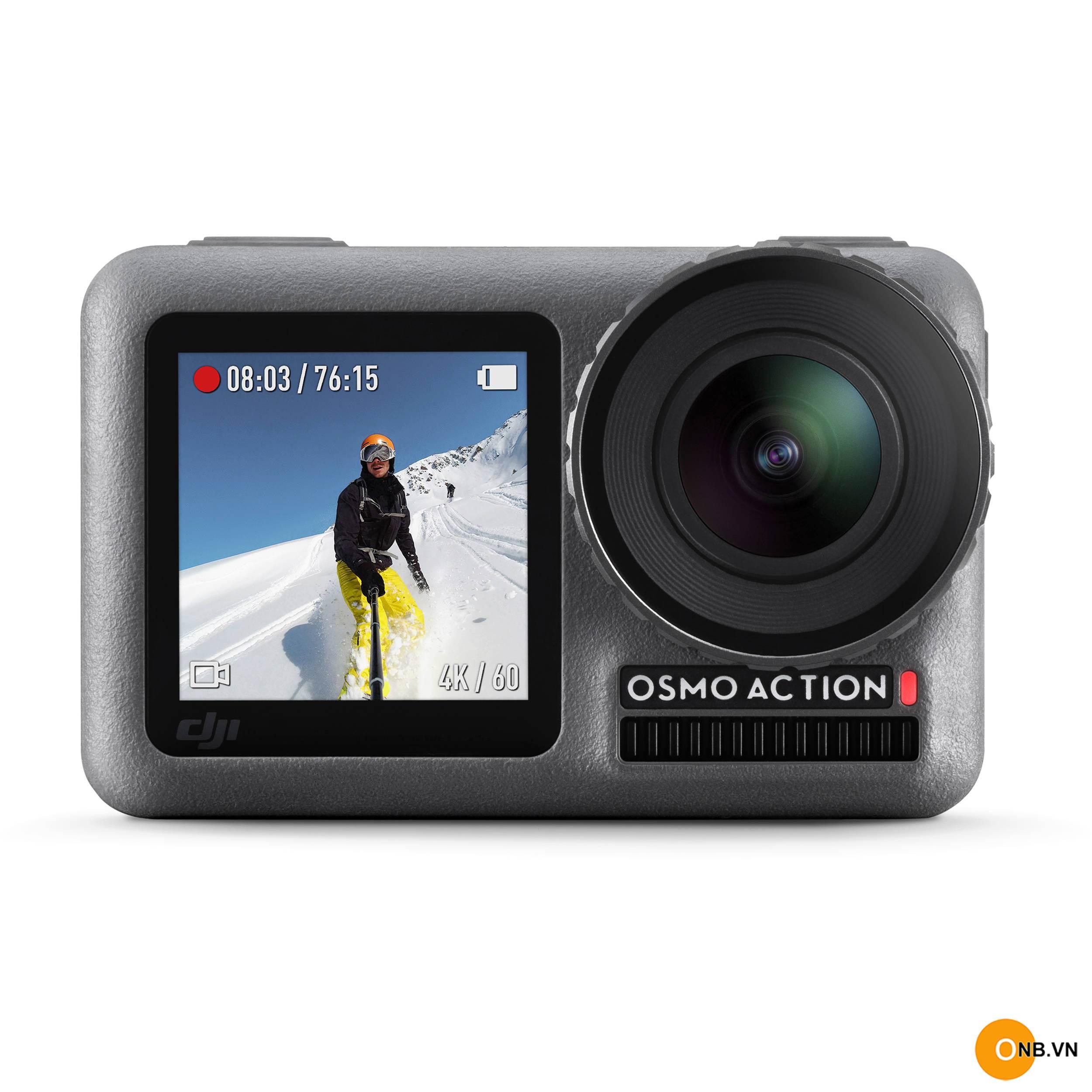 DJI OSMO ACTION - Camera siêu nét 4K mini xách tay chính hãng