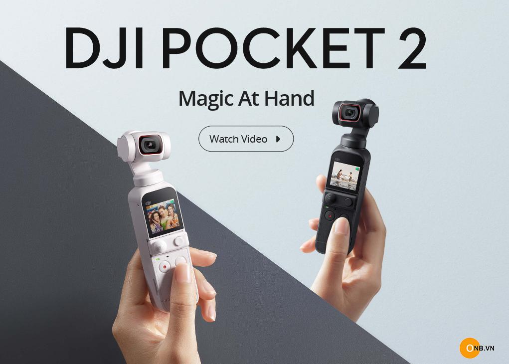 DJI Pocket 2: Sunset White phiên bản màu trắng new 2021