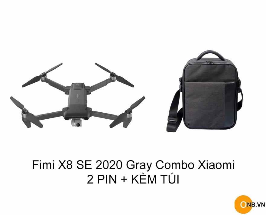 Fimi X8 SE 2020 - Flycam Xiaomi 4K HDR 30fps 8KM Màu Xám