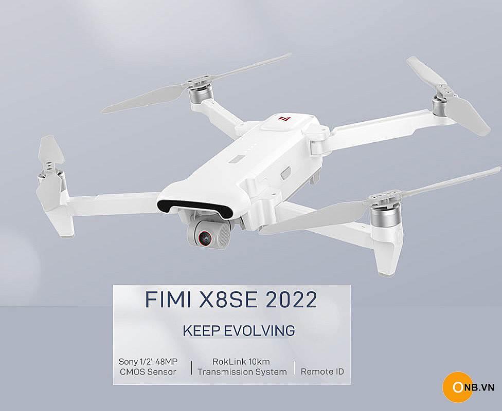 Xiaomi Fimi X8 SE 2022 - Flycam 4K60fps Camera 48MP - 10Km