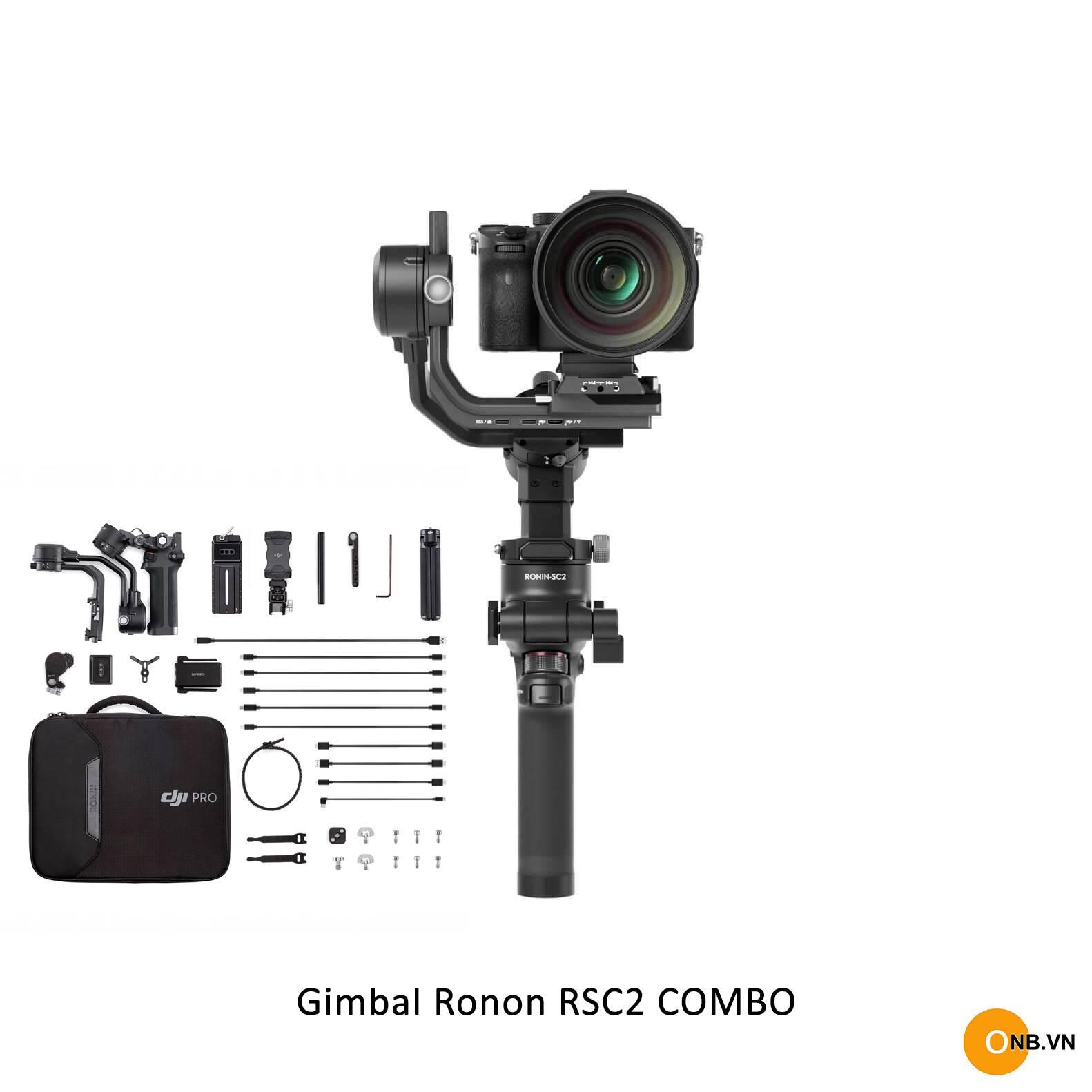 Gimbal Ronin RSC2 Bản Combo - Chống rung quay phim máy ảnh