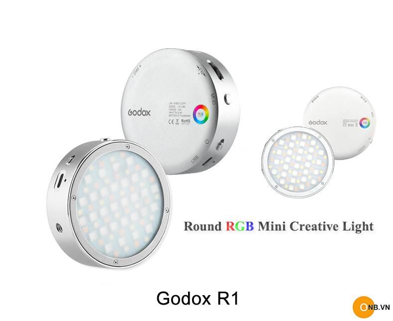 Godox R1 Led Round RGB Mini Creative Light