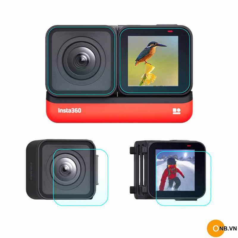 Insta360 One R dán màn hình cường lực