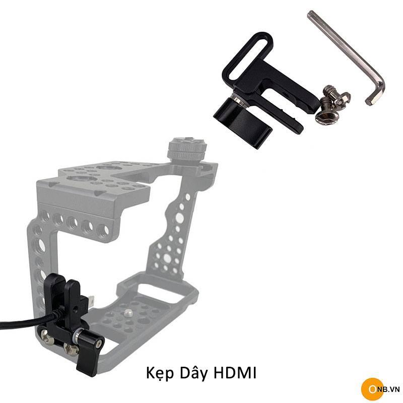 Kẹp dây HDMI cho khung máy ảnh Smallrig - Uurig
