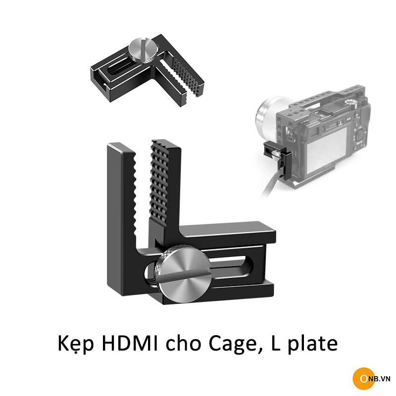 Kẹp HDMI cho Cage, L Plate hãng Smallrig, Uurig