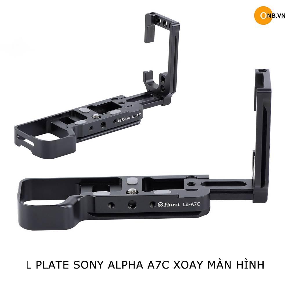 L Place Sony Alpha A7C dòng cao cấp xoay màn hình 2021