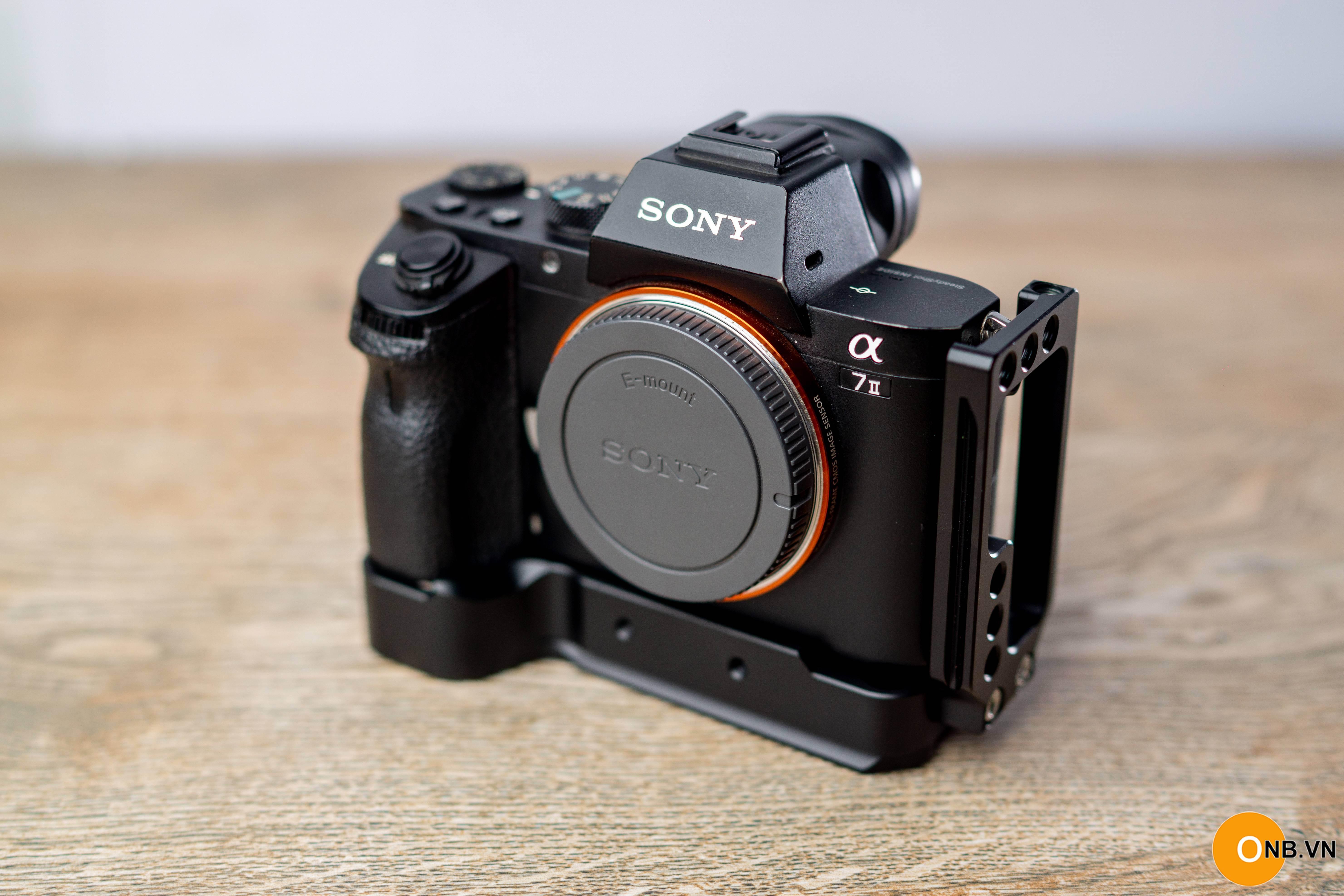 L Plate thanh bảo vệ Sony A7II A7R2 A7S2 dòng báng dày như Smallrig