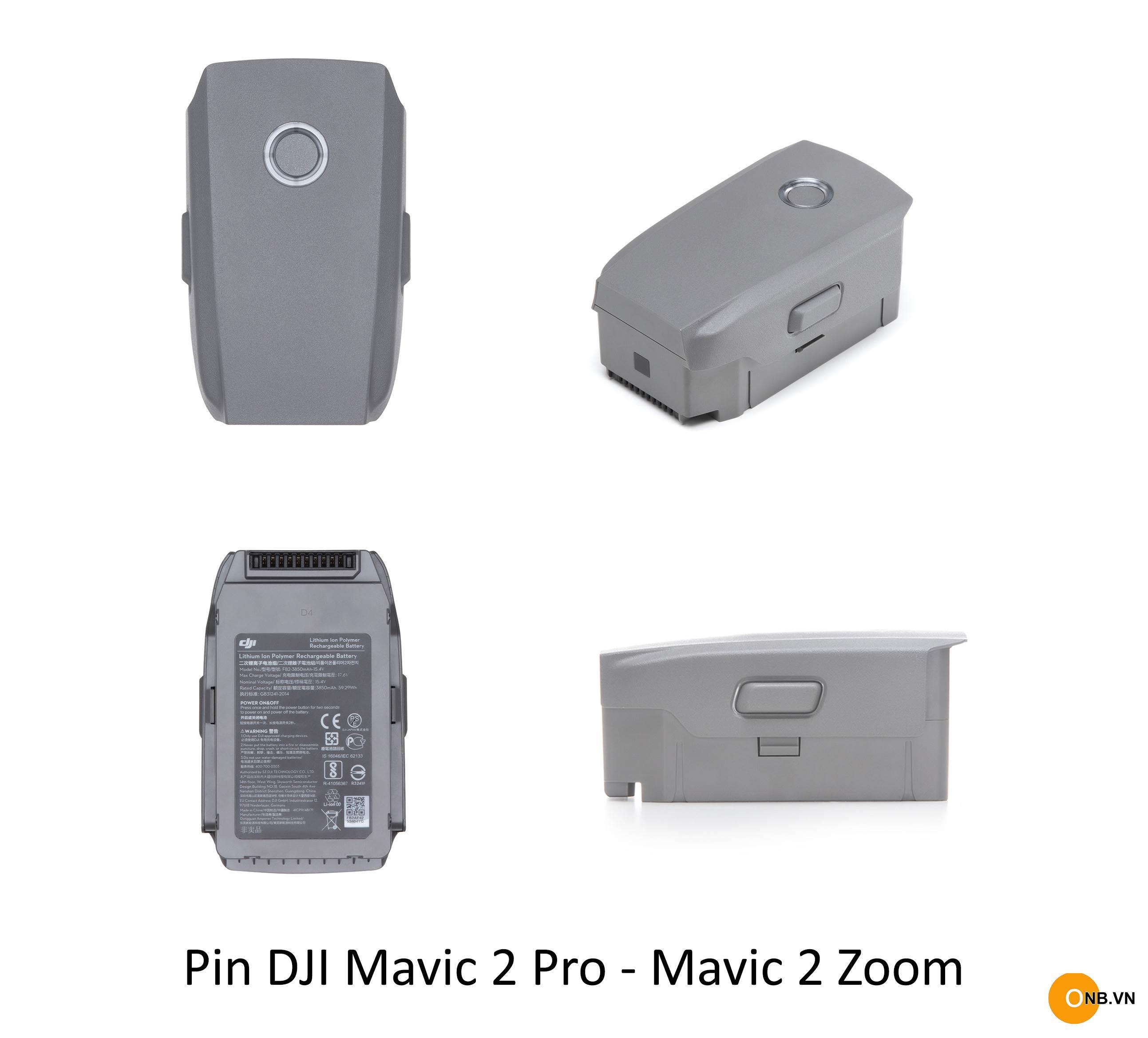Mavic 2 Pro - 2 Zoom Battery - Pin chính hãng DJI