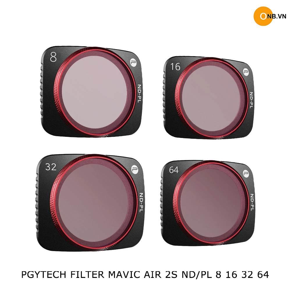 Mavic Air 2s - PGYTECH Filter ND/PL 8 16 32 64