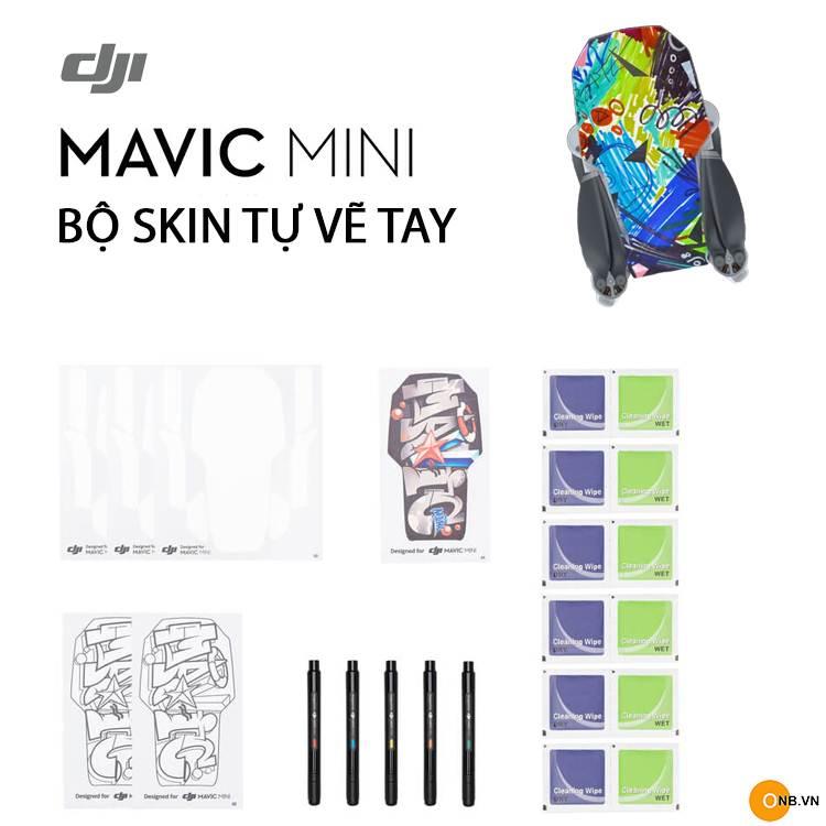 Mavic Mini DIY Creative Kit - Bộ kit gồm bút vẽ, giấy kin dán cho Mavic Mini