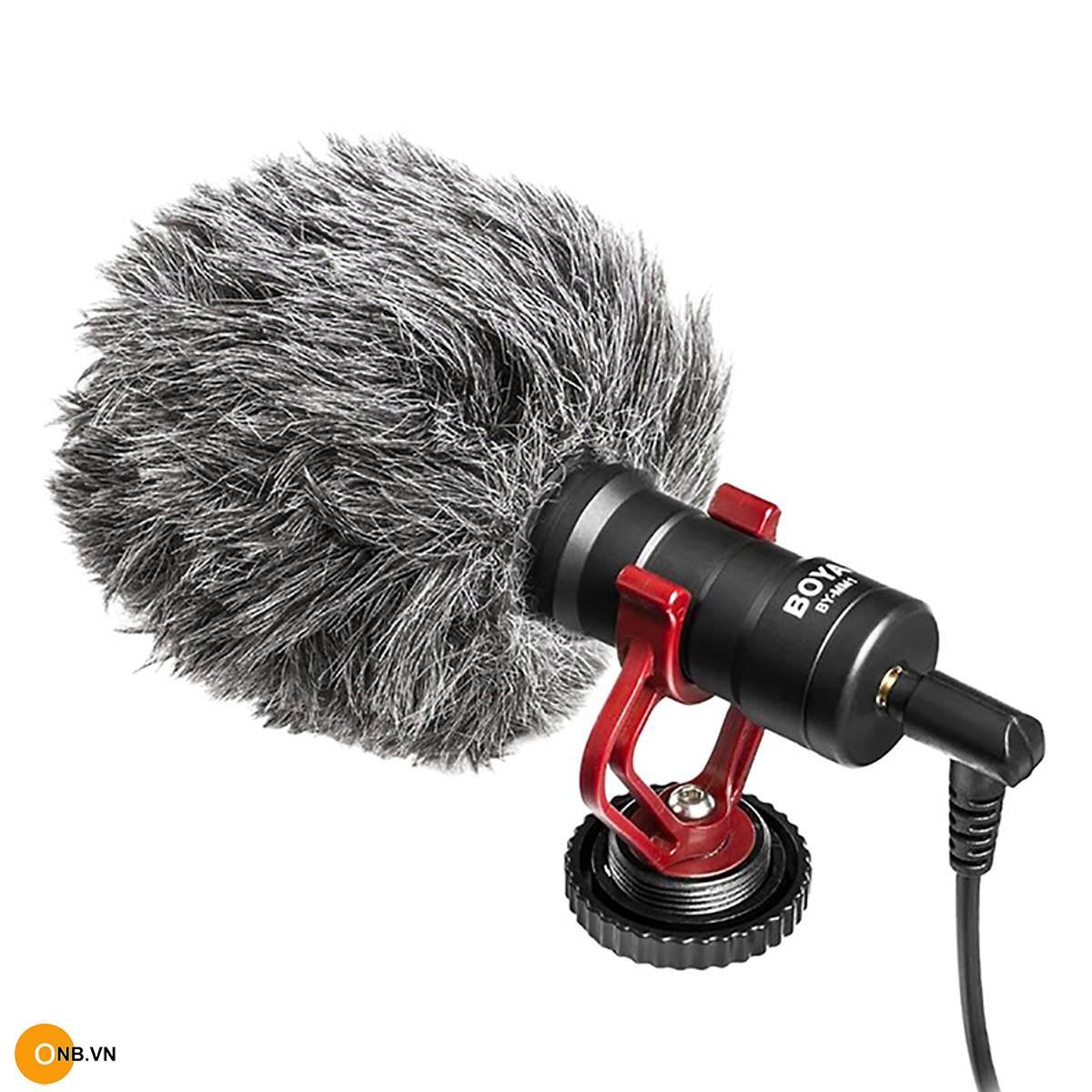 Micro thu âm đa năng Boya BY-MM1