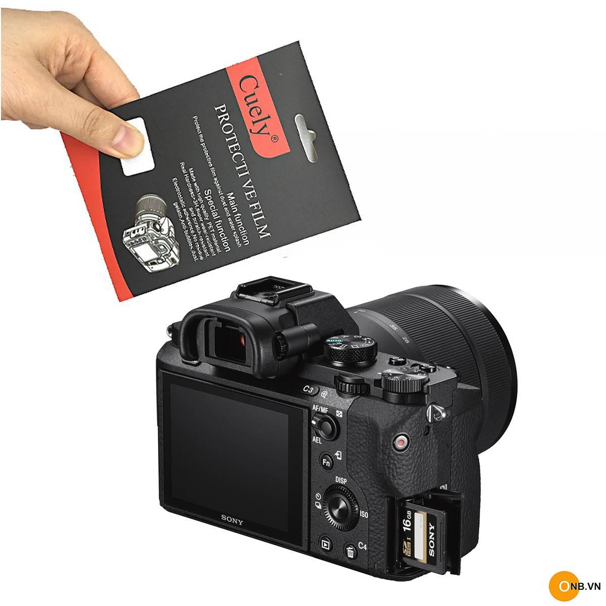 Miếng dán màn hình cường lực máy ảnh Sony A7II A7RII A7SII