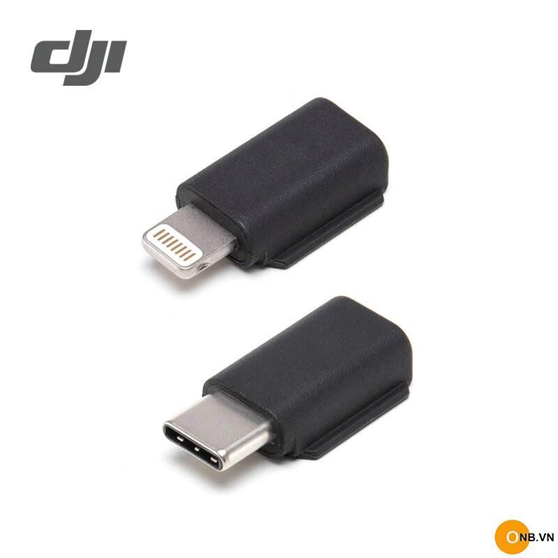 Osmo Pocket Adapter Type C - Lightning chính hãng DJI