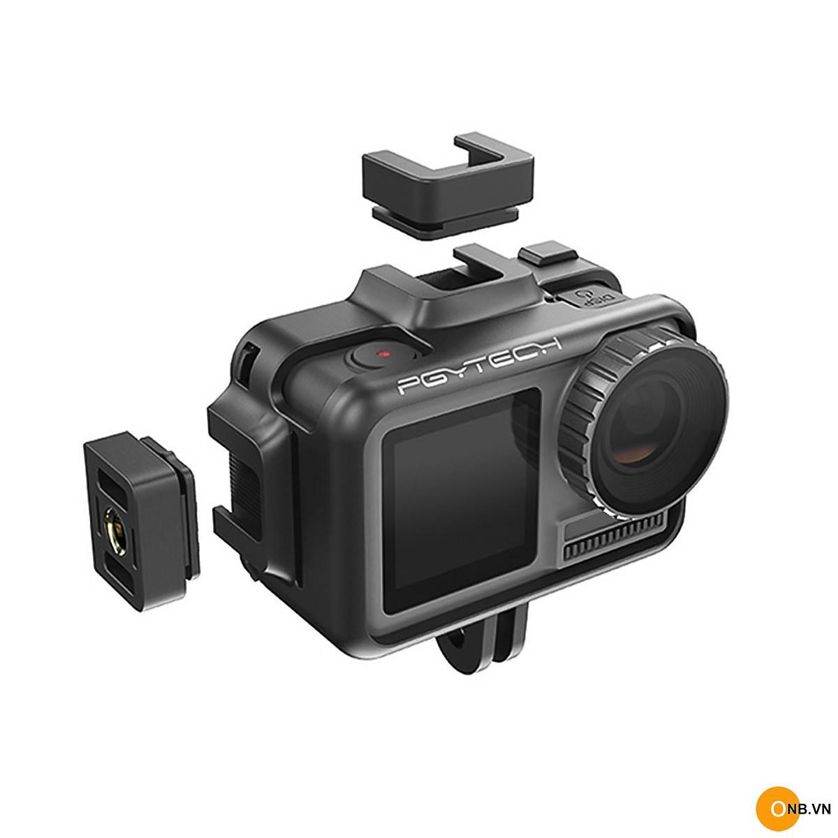 PGYTECH Cage DJI OSMO Action Camera - Khung bảo vệ