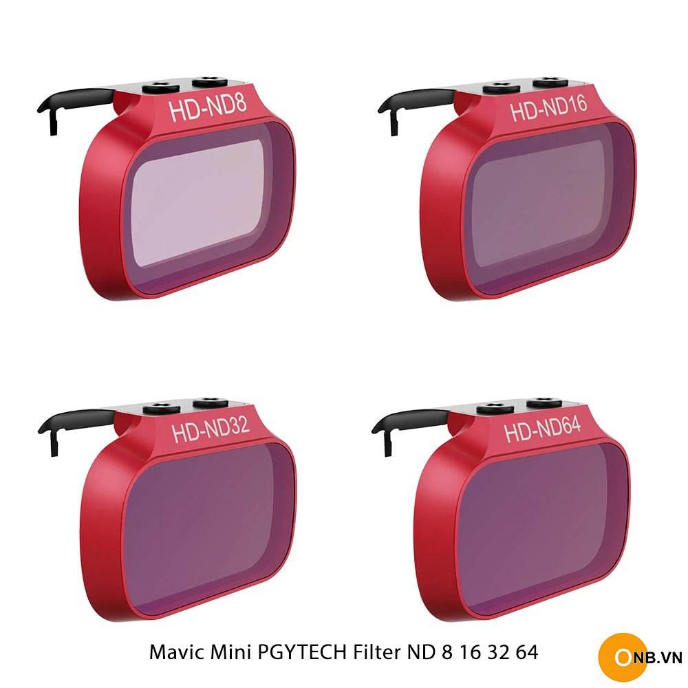 Pgytech Filter ND 8 16 32 64 - Bộ Filter Mavic Mini 1 - Mini 2