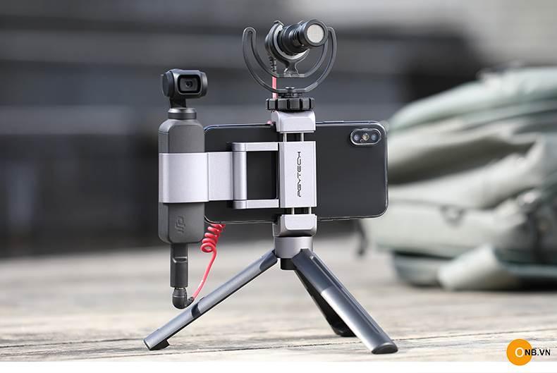 PGYTECH Osmo Pocket 2 - Báng kẹp điện thoại kim loại gọn nhẹ