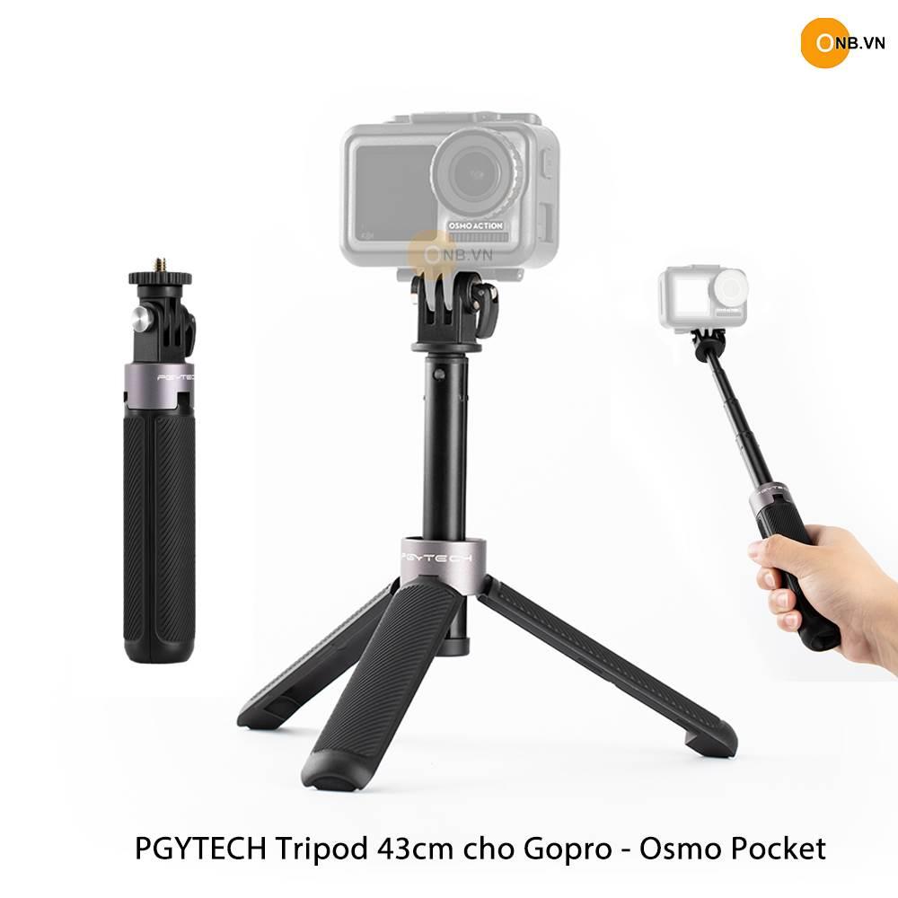 Pgytech Tripod 43cm - Gậy mini Gopro - Osmo Pocket 2