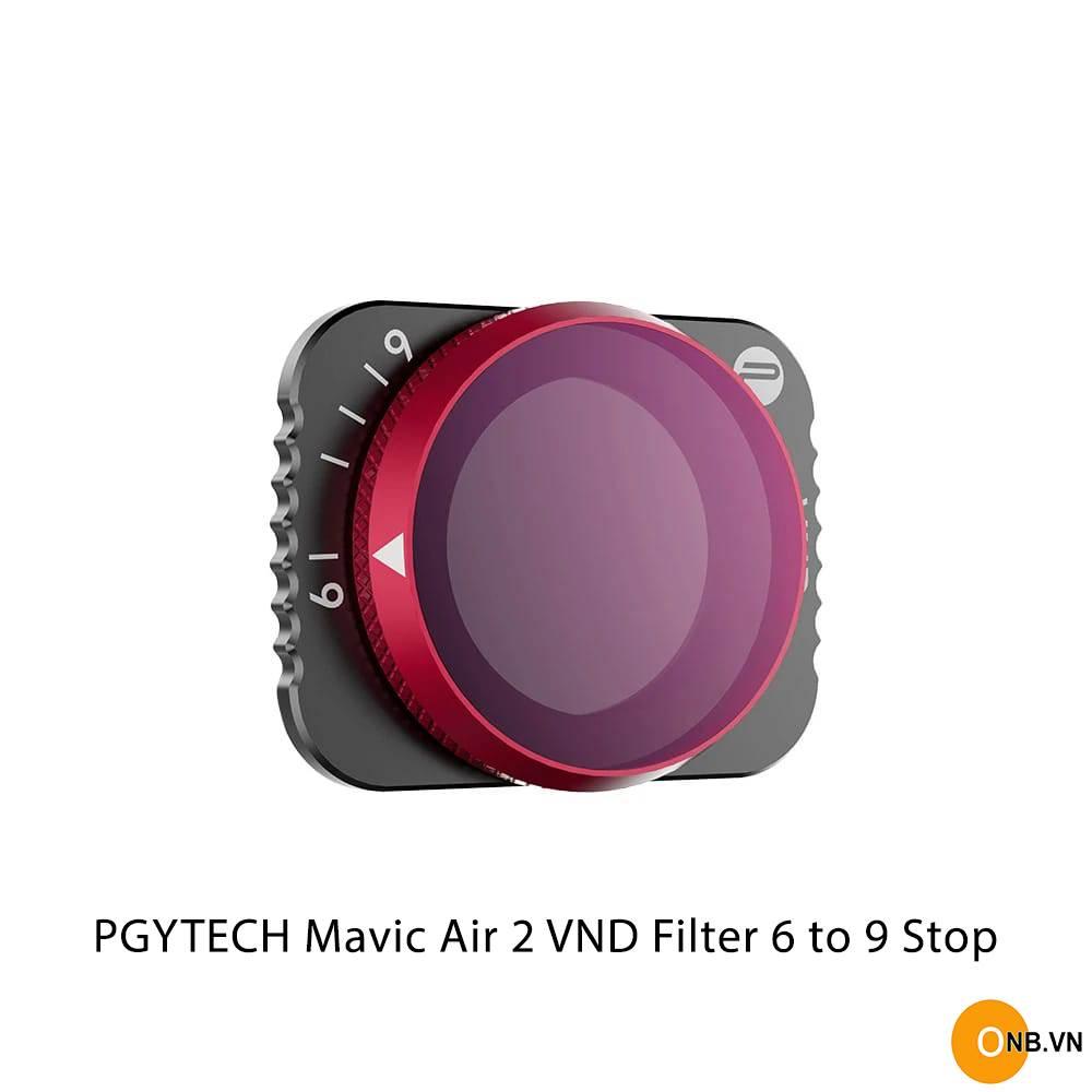 PGYTECH Mavic Air 2 VND Filter 6-9 stops (ND64-ND512)