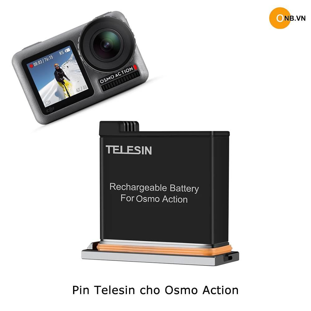 Pin Telesin cho DJI Osmo Action chất lượng