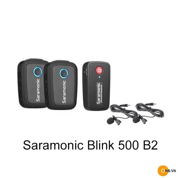 Saramonic Blink 500 B2 - Mic thu âm không dây chính hãng