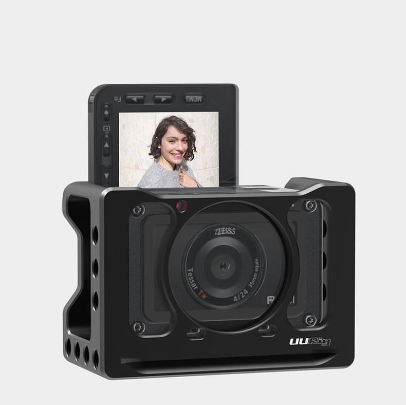 Small Rig Uurig cho Sony RX0 II - Khung bảo vệ camera