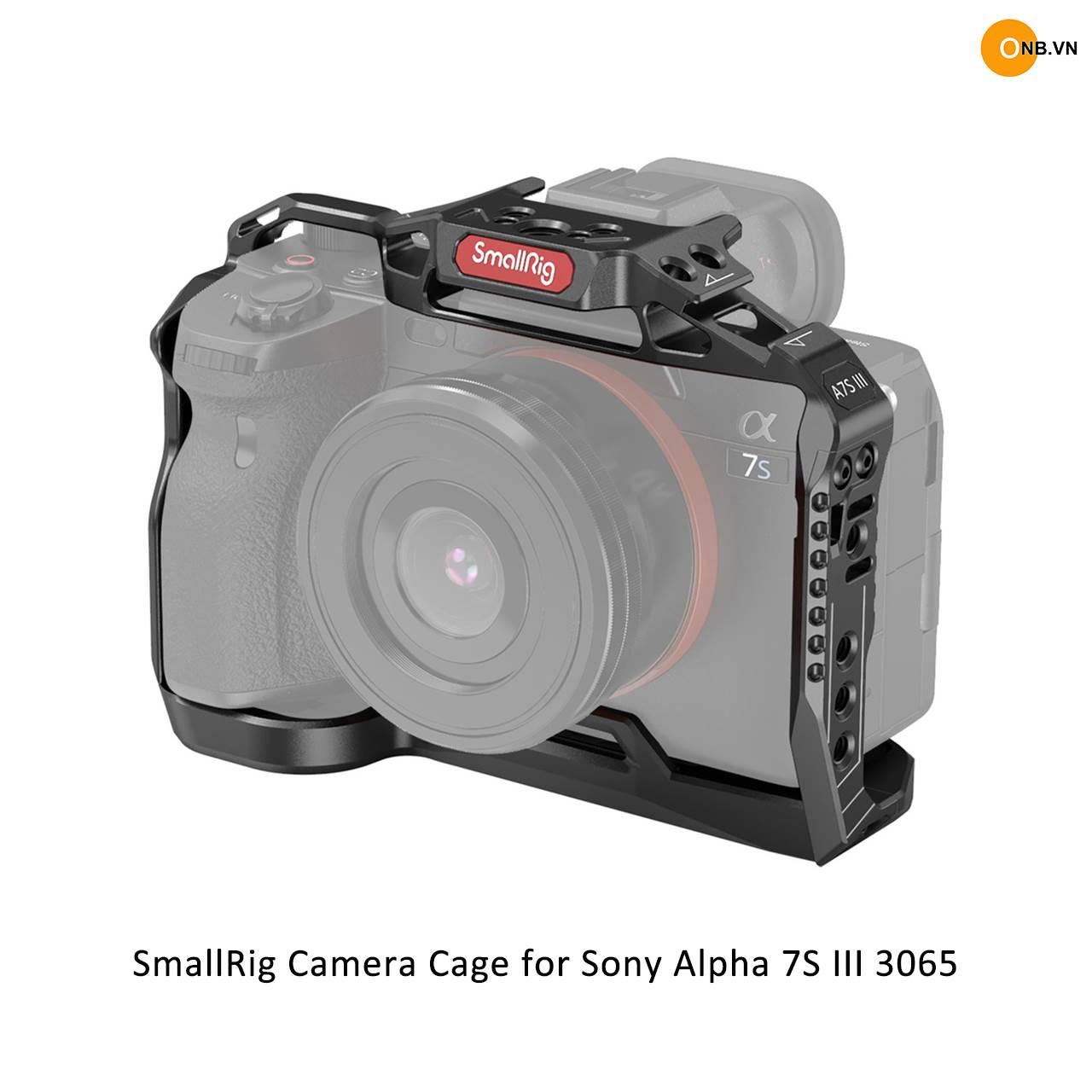 SmallRig Camera Cage Sony Alpha A7S3 3065