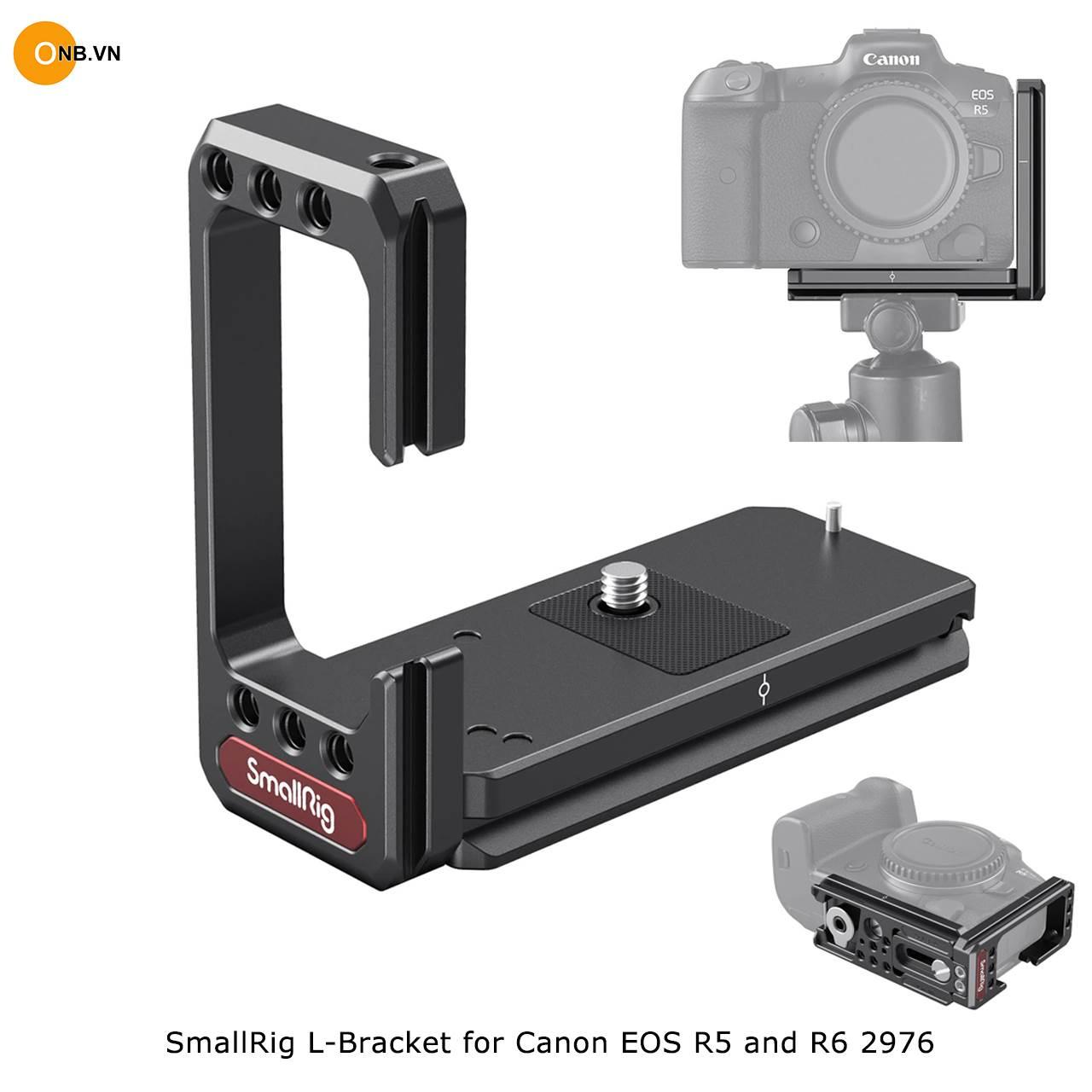 SmallRig L-Bracket for Canon EOS R5 R6 2976