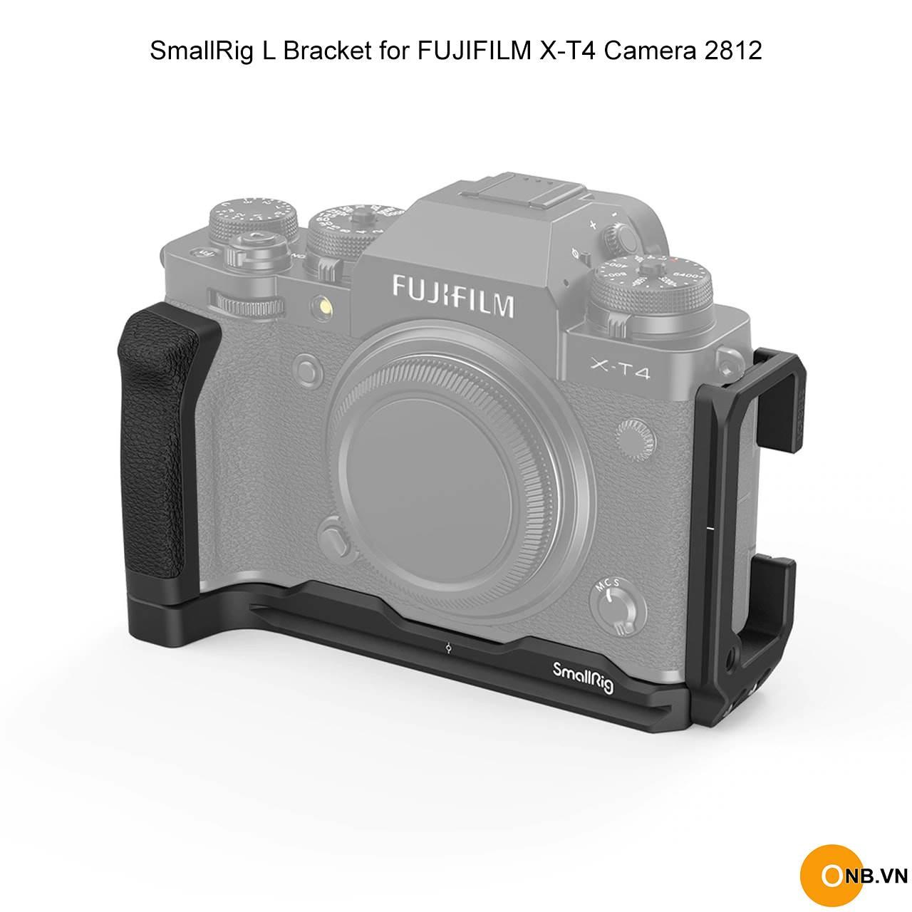 SmallRig L Bracket for FUJIFILM X-T4 Camera 2812