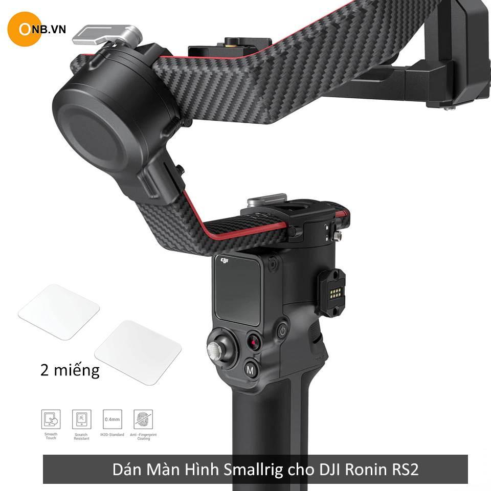 SmallRig Screen Protector DJI RS2 3029 gồm 2 Dán màn hình