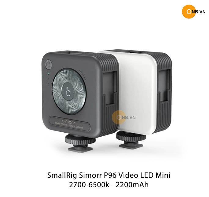 SmallRig Simorr P96 Led Mini - 2700-6500K - Pin 2200mAh