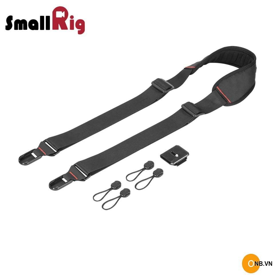 SmallRig Camera Shoulder Strap With QR Plate 2428