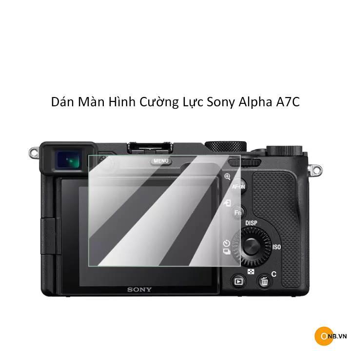 Sony Alpha A7C miếng dán màn hình cường lực