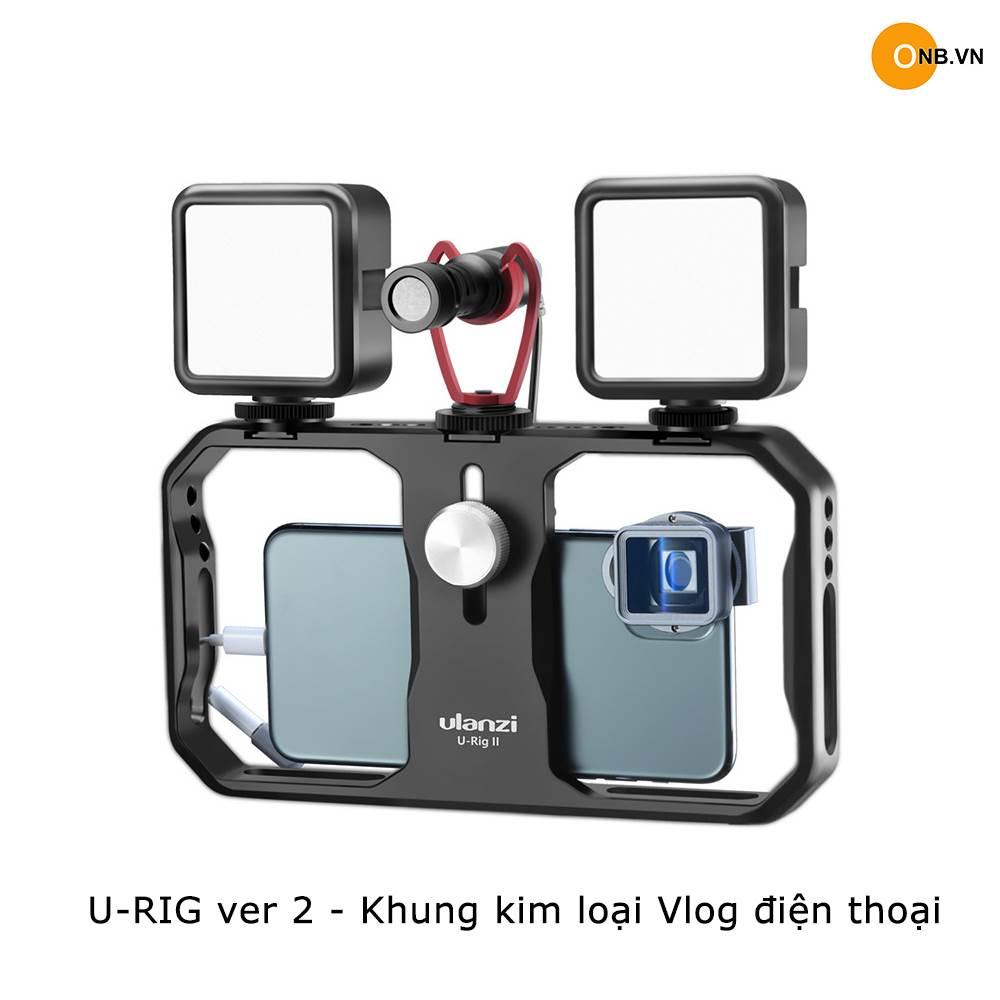 U-Rig ver 2 - Khung kim loại quay Vlog Iphone - Android
