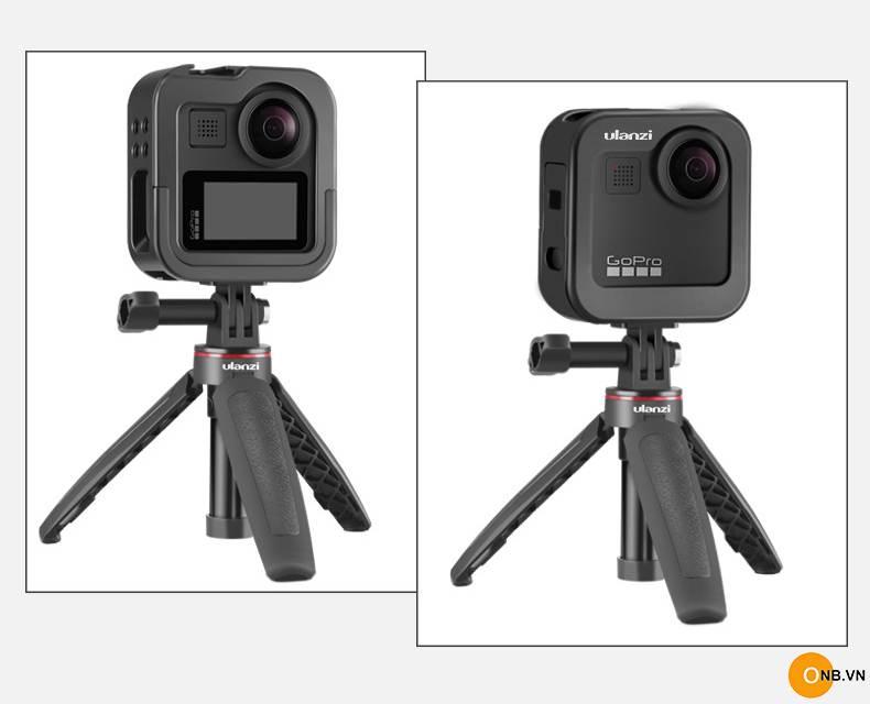 Ulanzi GM-3 Gopro Max - Khung bảo vệ kim loại Vlog