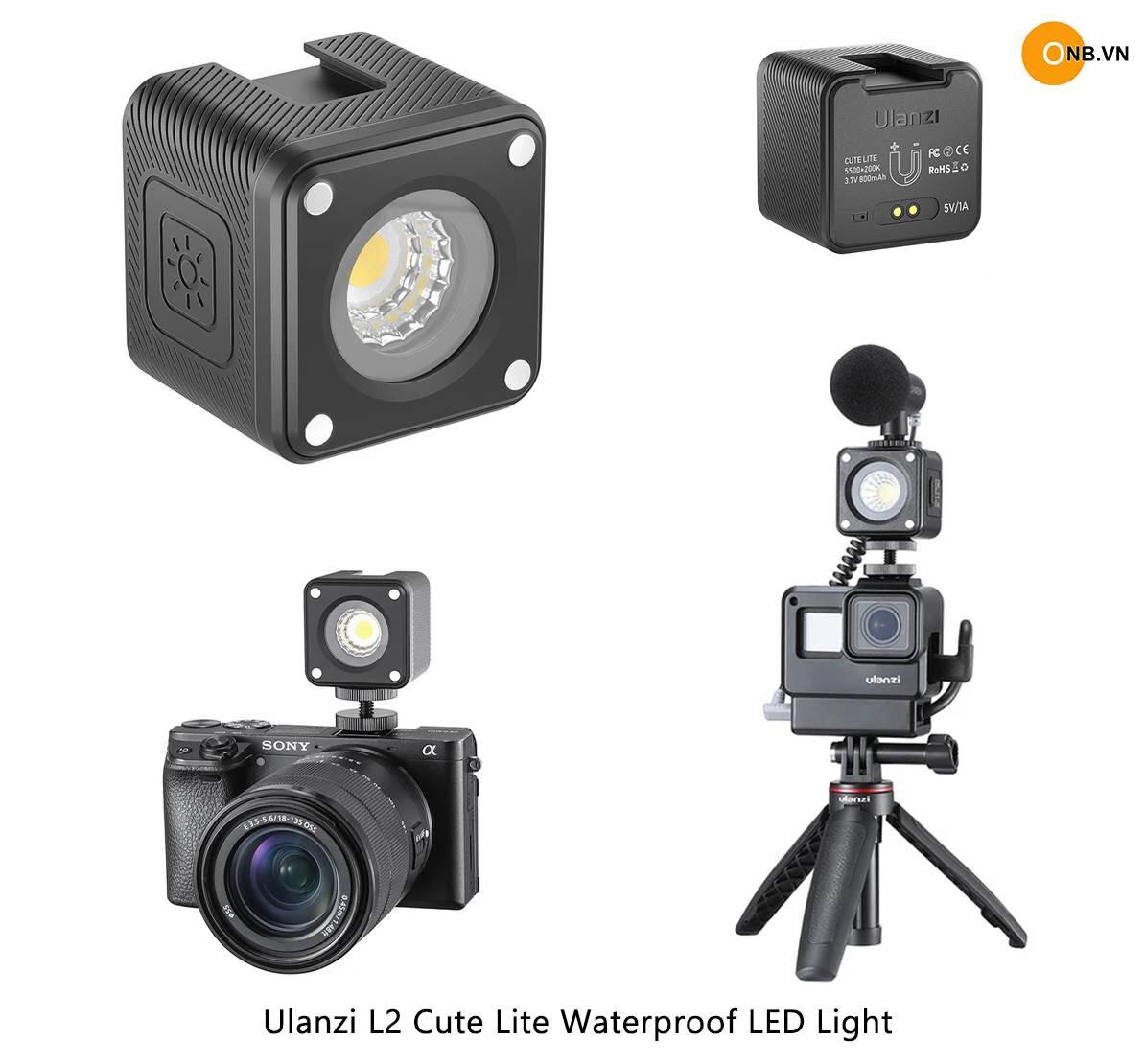Ulanzi L2 Cute Lite Waterproof LED Light - Đèn led mini chống nước