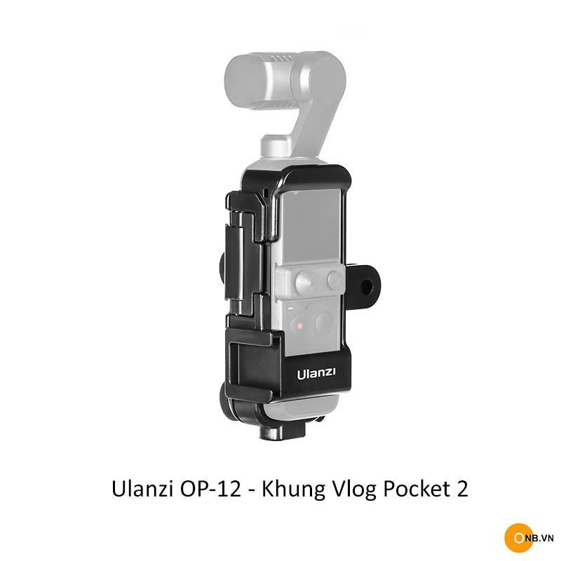 Ulanzi OP-12 Khung Vlog cho Osmo Pocket 2