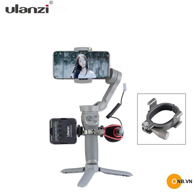 Ulanzi R037 kẹp tròn gắn phụ kiện Osmo Mobile 4 và 3