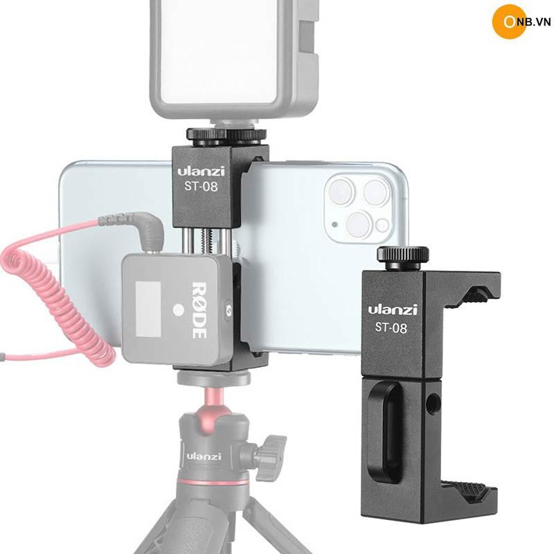 Ulanzi ST-8 Kẹp điện thoại có mount gắn Rode Wireless Go
