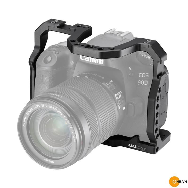 UURig C-EOS 90D Cage Canon EOS 90D 80D 70D