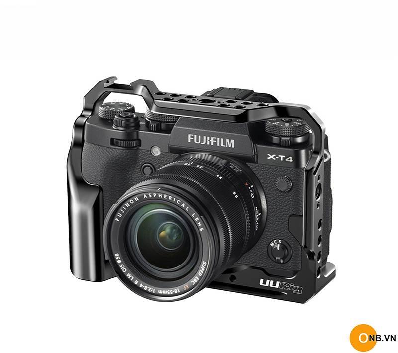 Uurig Cage Fujifilm X-T4 - Khung bảo vệ máy XT4 quay phim Vlog