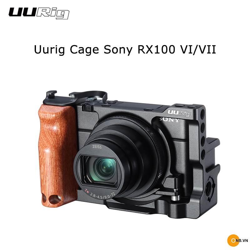 Uurig Cage RX100 VII - Khung bảo vệ máy ảnh Sony RX100M7