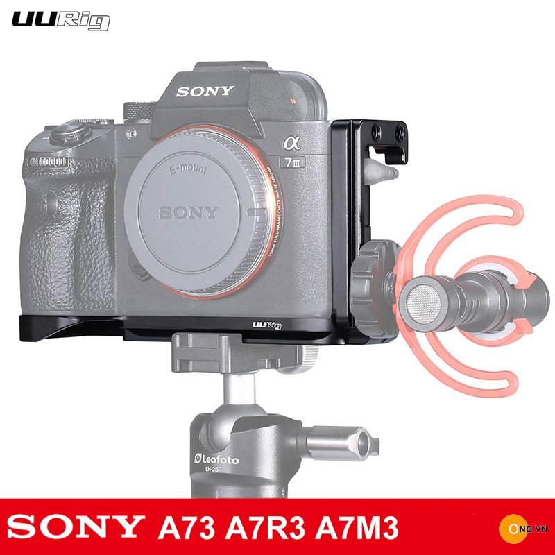 Uurig R013 L Plate cho Sony Alpha A7III A7RIII A9 new 2019