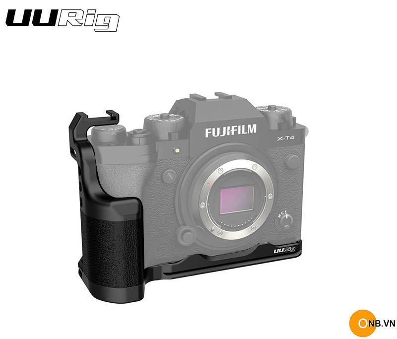 Uurig L Plate Fujifilm X-T4 Thanh L bảo vệ máy XT4