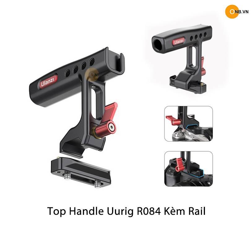 Uurig R084 Top Handle - Tay Cầm Gắn aKhung Máy Ánh Kèm Rail