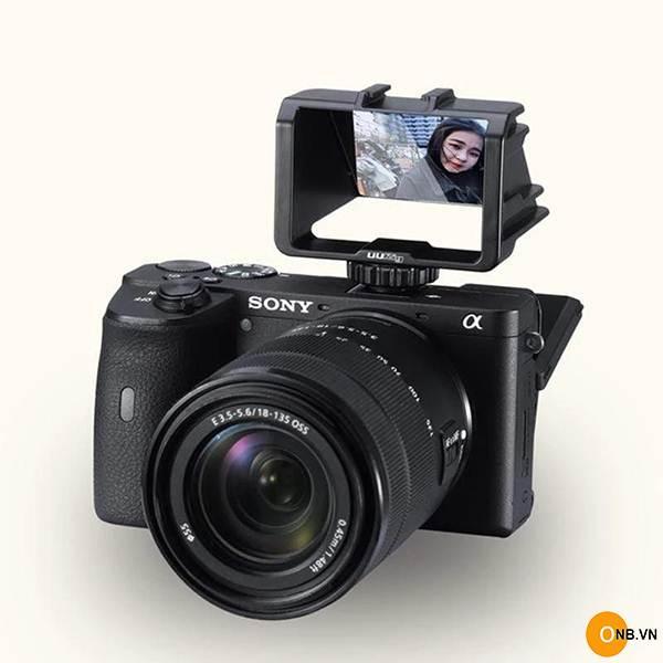 Uurig R031 Vlog giá đỡ phản chiếu màn hình máy ành Sony, Canon,Nikon