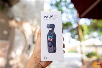 Trên tay Fimi Palm 2 - nhỏ gọn chống rung tốt pin trâu