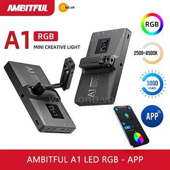 Ambitful A1 - Đèn Led RGB - App - Chỉnh Màu - Độ K