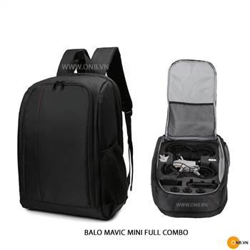 Balo Mavic Mini chống sốc đựng Full Combo phụ kiện